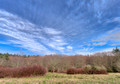 Big Winter Sky Over Judd Creek