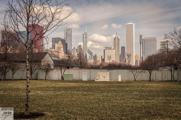 Dog Park Environs, Downtown Chicago